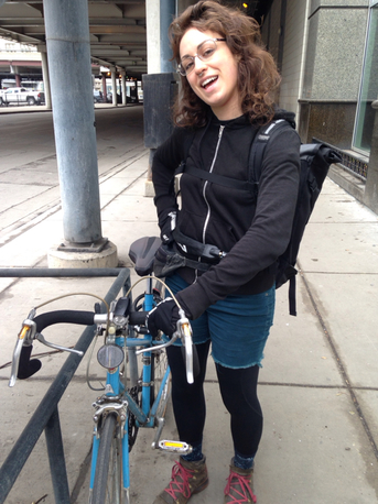 Emily Thorton Bike Commuter Chicago