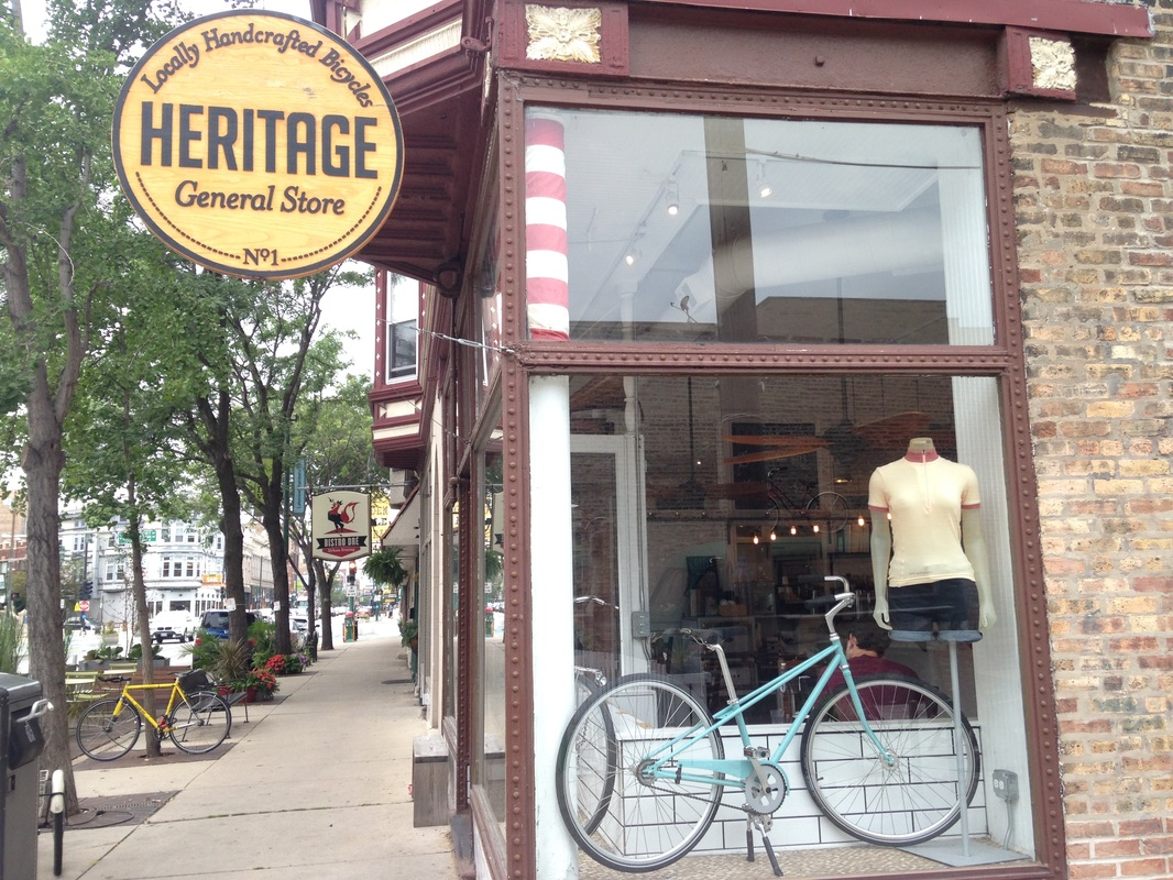 Heritage Bicycles Chicago Commuting