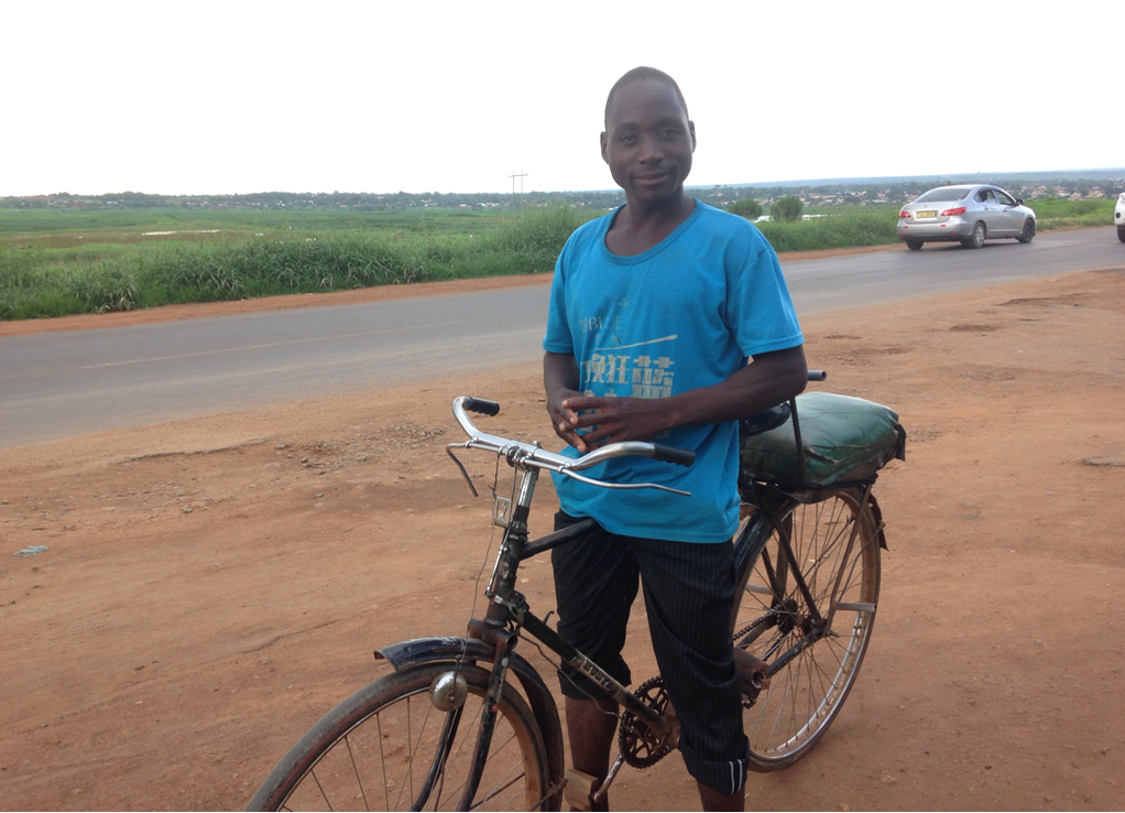 Biking in East Central Africa ZappaWheels