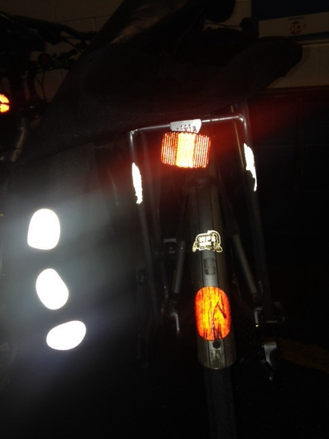 Bike lights for commuting
